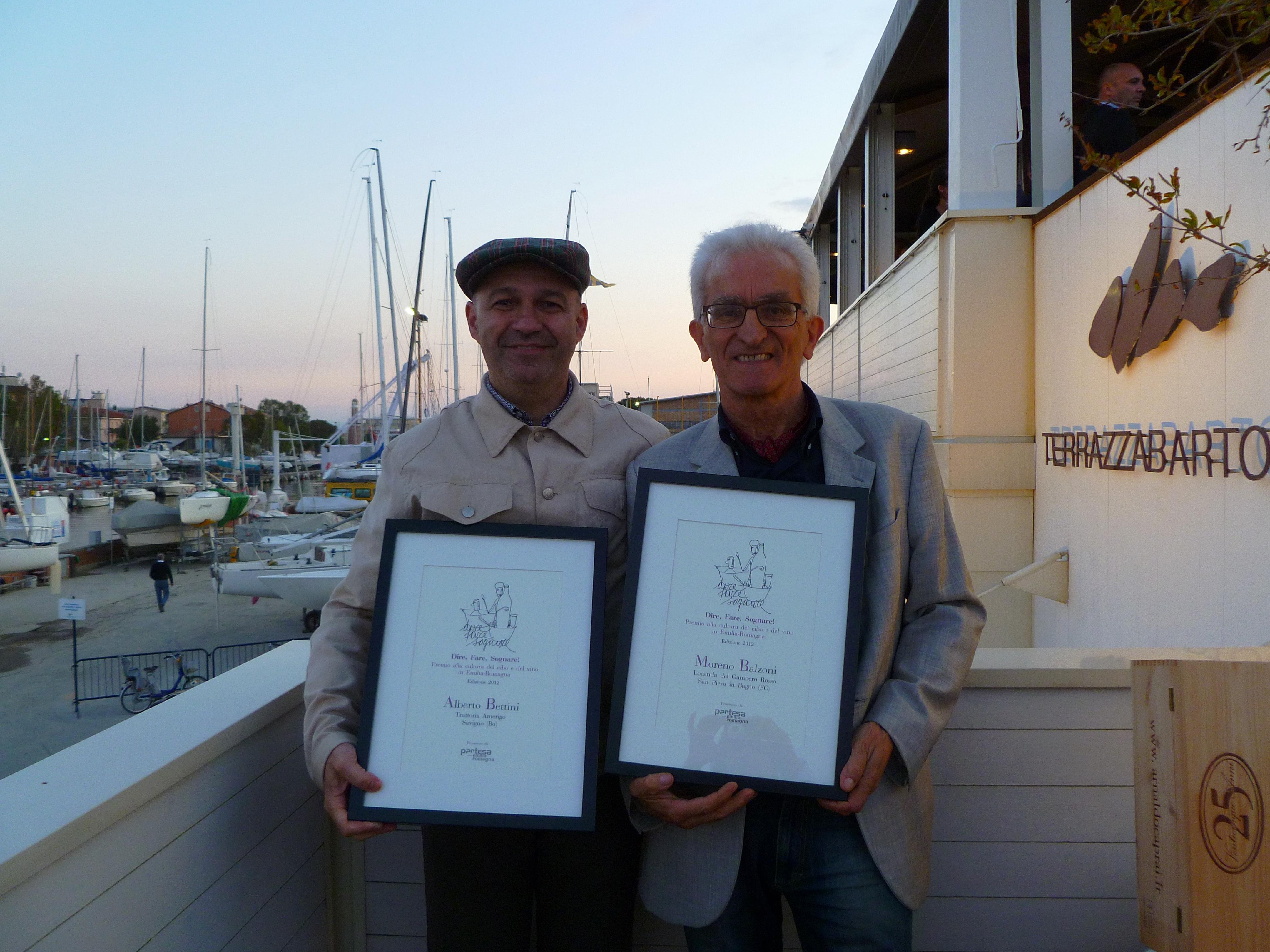 Un Premio Speciale Per Due Di Noi Premiate Trattorie Italiane